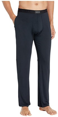 SAXX UNDERWEAR Sleepwalker Pants with Ball Park Pouch (Black) Men's Pajama