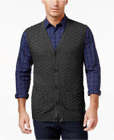 Tasso Elba Men's Chevron Sweater Vest, Only at Macy's
