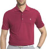 Izod Short-Sleeve Golf Grid Polo