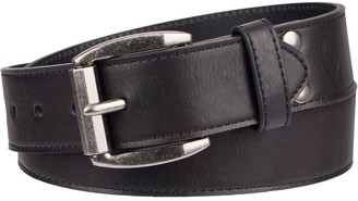 Dickies Men's Bonded-Leather Casual Belt