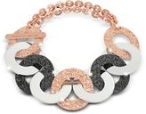 Rebecca R-Zero Rose Gold Over Bronze and Steel Chain Bracelet