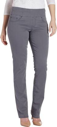 Jag Jeans Women's Petite Peri Straight Pull on Pant