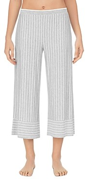Donna Karan Striped Capri Pants