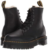 Dr. Martens Jadon Faux-Fur Lined (Black) Boots