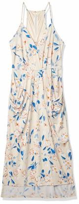 BCBGeneration Women's Spring Floral Drape Dress
