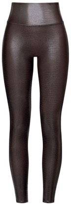 Spanx High-Rise Faux Leather Leggings