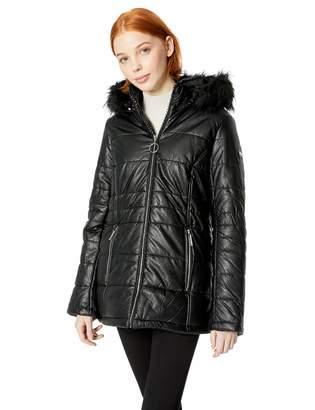 Rocawear Women's Faux Leather Fashion Jacket