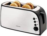 Cookworks 4 Slice Toaster - Stainless Steel