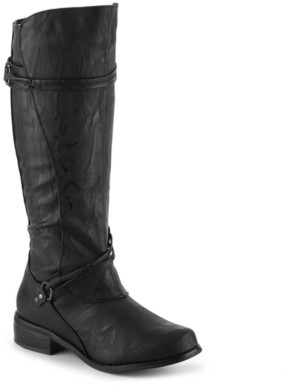 Journee Collection Harley Wide Calf Riding Boot