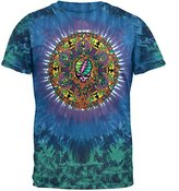 Liquid Blue Men's Grateful Dead Celtic Mandala Tie Dye T-Shirt