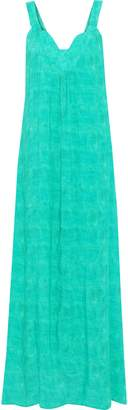Vix Paula Hermanny Lagoon Susan Cutout Cotton-gauze Maxi Dress