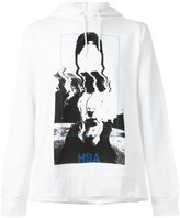 Hood by Air abstract print hoodie