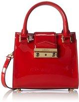 Sebastian Professional Sebastian Women's MINIJACKIE VERTOM+ORO Top-Handle Bag Red Rot (VERTOM+ORO)