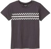 Tiny Whales Good Vibes Club T-Shirt (Toddler/Little Kids/Big Kids) (Vintage Black) Boy's Clothing