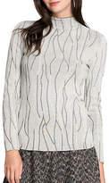 Nic+Zoe PETITE Abstract Print Sweater