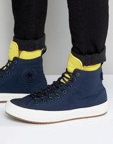 Converse Chuck Taylor All Star Ii Boot Plimsolls In Blue 153569c-467