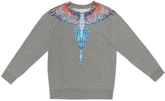 Marcelo Burlon County of Milan Kids Of Milan Wings cotton-blend sweater