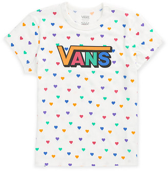 Vans Girls Colorful Hearts Tee