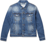 Ami - Slim-fit Denim Jacket