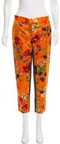 Dolce & Gabbana Mid-Rise Floral Print Jeans