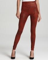 Yummie Tummie Leggings - Jade Faux Leather #YT2-091