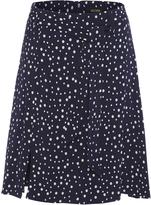 Oxford Karina Spot Skirt Midnght Blu X