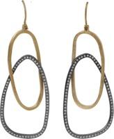 Todd Reed Diamond Openwork Earrings