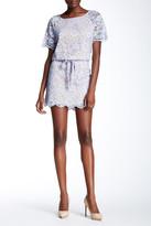 Diane von Furstenberg Amal Drop Waist Lace Dress