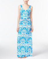 INC International Concepts Ruched Maxi Dress, Only at Macy's