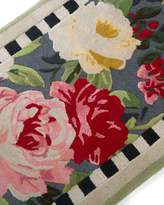 Mackenzie Childs MacKenzie-Childs Tudor Rose Rug, 2.25' x 3.75' and Matching Items