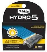 Schick Hydro5 Sense Energize Razor Blade Refill - 4ct