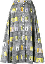 Olympia Le-Tan window motif skirt