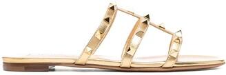 Valentino Rockstud T-bar strap sandals