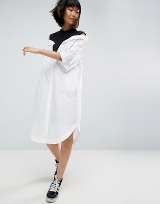 ASOS Drop Shoulder Shirt Dress