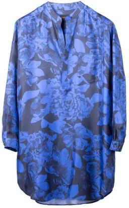 Bananatime Tunic Shirt Youth Bloom Blue