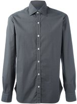Barba diamond print shirt - men - Cotton - 41