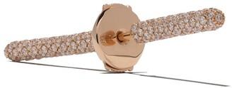 VANRYCKE 18kt rose gold and diamond Kachina earring