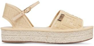 Fendi Platform Espadrille Sandals