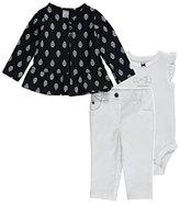 Carter's Baby Girls' 3 Piece Print Cardigan Set (Baby)