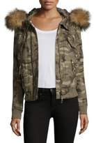 Generation Love Fran Fur Bomber Jacket
