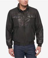 Tommy Hilfiger Men's Concealed Hood Bomber Jacket