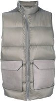 Rick Owens padded gilet