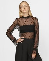 Lost Illusions Mesh Top