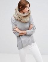 Hat Attack Faux Fur Loop Infinity scarf