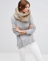 Hat Attack Faux Fur Loop Infinity scarf