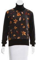 Salvatore Ferragamo Leaf Wool Wool Sweater