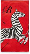 Caspari 100 Zebras Buffet Napkins/Guest Towels