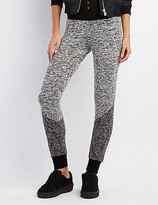 Charlotte Russe Marled Colorblock Jogger Pants