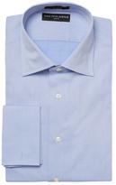 Solid French Cuff Slim Fit Dress Shirt
