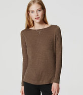 LOFT Shoulder Button Tee